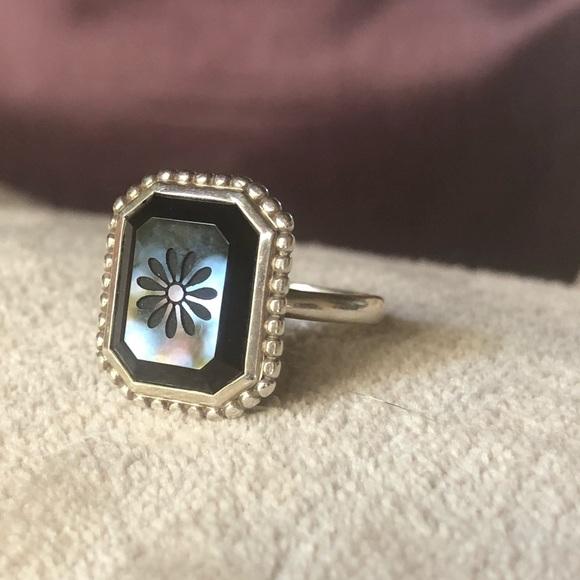 f82e1d473ad88 Tiffany's Ziegfeld Collection Black Daisy Ring